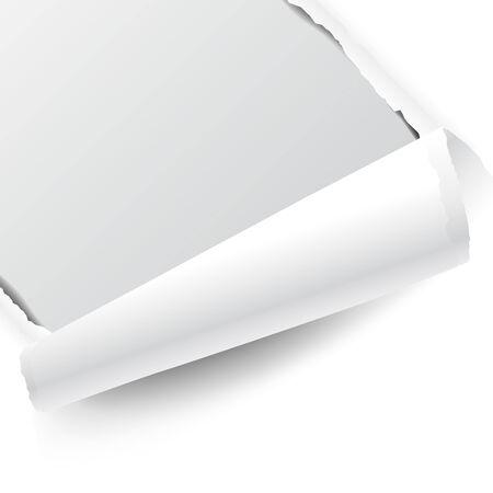 Geïsoleerd op wit papier Stockfoto - 30147822