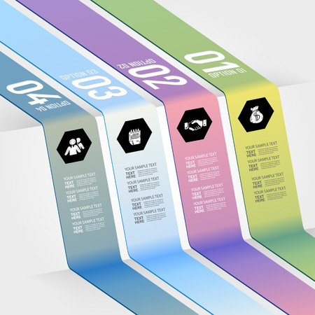 3d triangle: Modern design for business 3D triangle profit options info graphic  Vector illustration  Info graphic  Layout design  Template  Web design