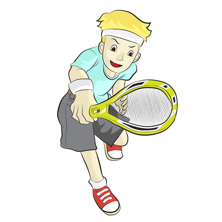 tennis serve: athlete tennis