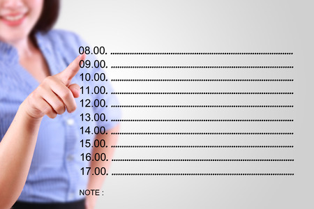 designate: business woman designate time management