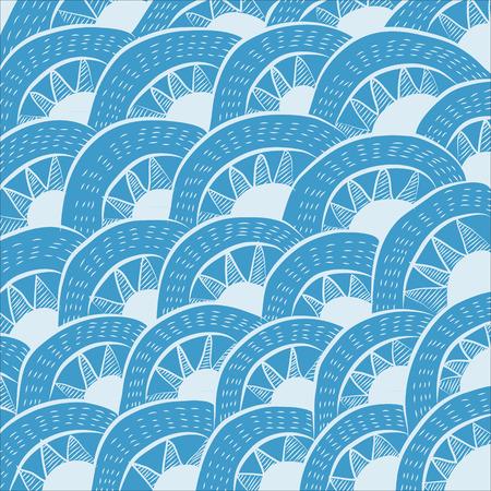 Seamless pattern background. Modern design line art. Vector