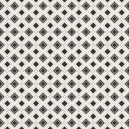 Seamless pattern background. Modern design line art. Vector geometric Vector