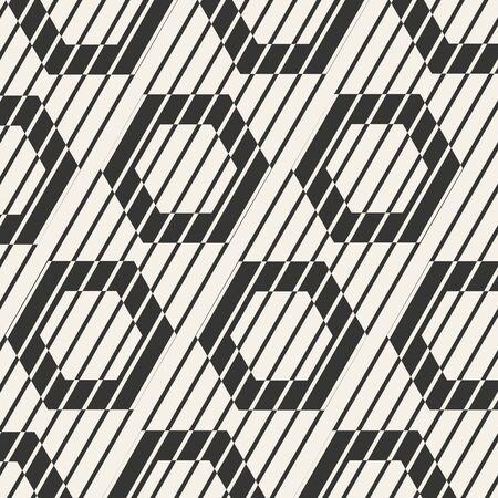 vector sample: Seamless pattern background. Modern design line art. Vector geometric