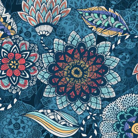 florale achtergrond Stock Illustratie
