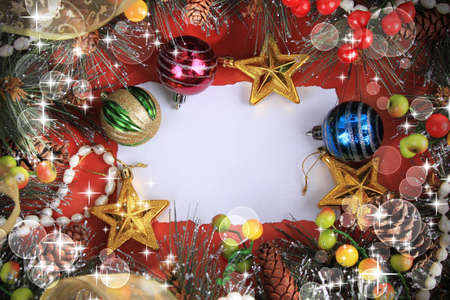 christmas card template: Christmas background