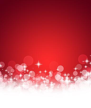 luz roja: Fondo de Navidad