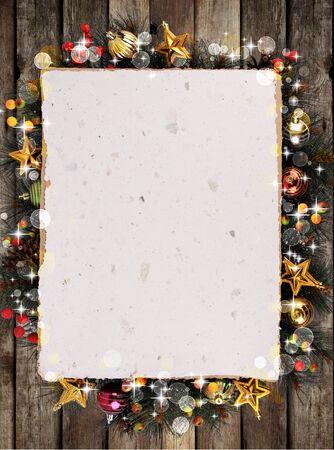 vintage design: Christmas background