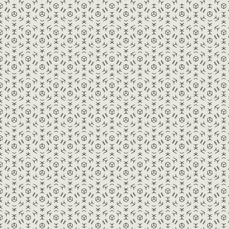 fabric texture: Modern geometric texture