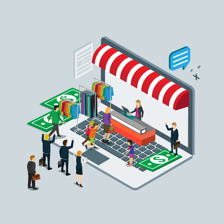 finance department: business technology  for on line shop e-commerce