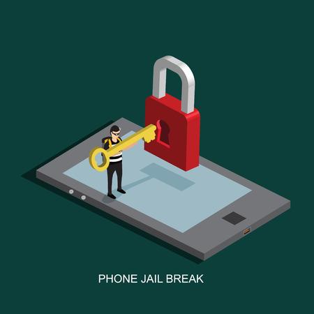 mobile phone jail break