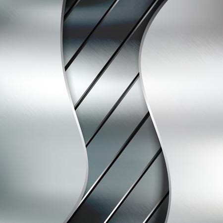Metal background glossy design vector illustration design