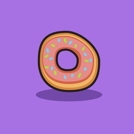 doughnut icon for food design Фото со стока - 129304531