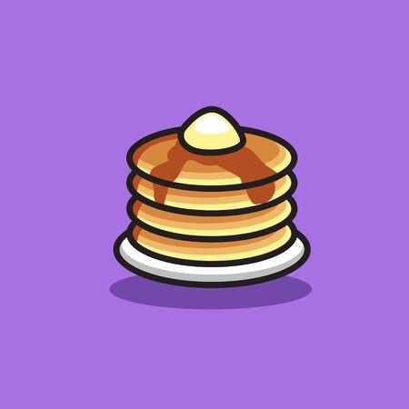 pancake icon for food design