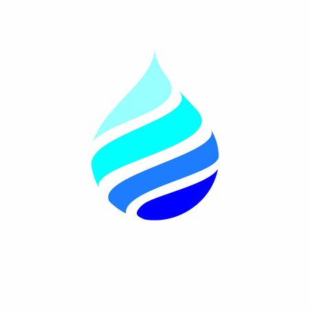 water drop blue logo