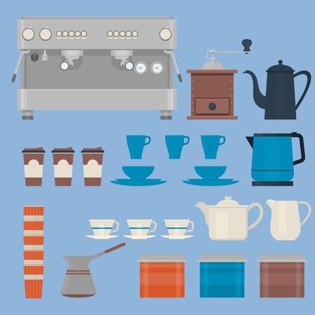 Coffee making equipment.