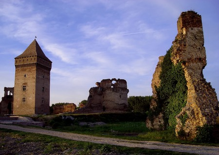 serbia: Old medieval fortress in Bac,Serbia ...