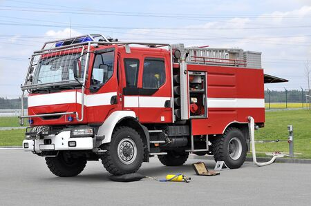 Off Road Fire Truck >> Off Road Red Fire Truck