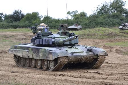 tanque de guerra: El tanque T-72 M4 Editorial