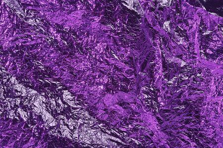 metalic texture: purple color textured aluminum foil