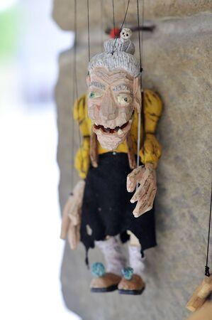 marionette: wooden  marionette moloi