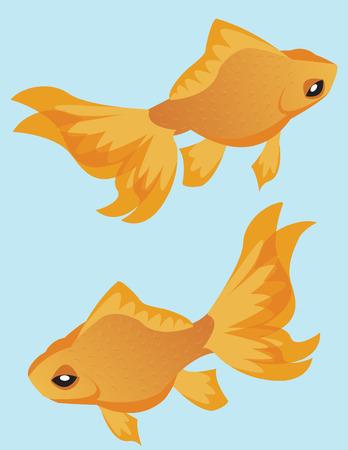 mate: Two Goldfish