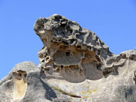 capo: Capo dOrso, rock on Sardinia. Stock Photo