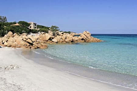 Costa Smeralda, emerald coast of Sardinia.