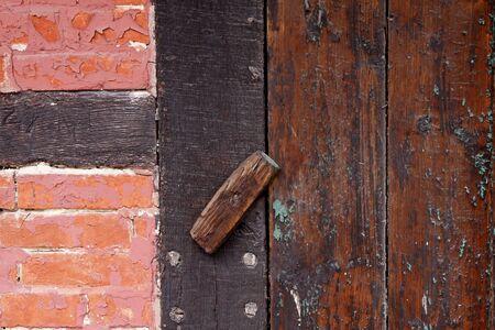 doorlock: Brown Front door in Lower Saxony, Germany