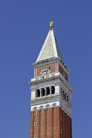 Venice, St. Marks Campanile - St. Marks tower on the Piazza San Marco, Italy, Europe Stock Photo - 9441443