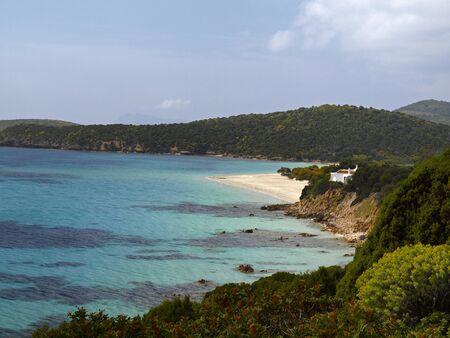 sud: Landscape at the Costa Del Sud, South Sardinia, Italy, Europe