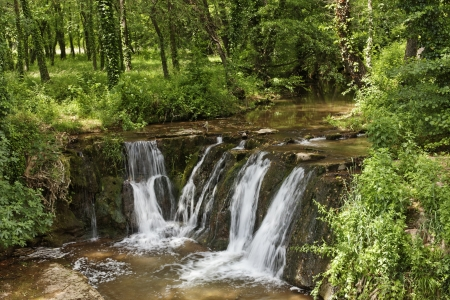 Waterfall, Massif des Maures, Provence, Southern France