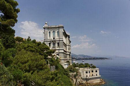 oceanographic: Monaco-Ville - Oceanographic Museum, Monaco-Ville, French Riviera, Europe