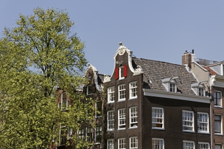 Typical Amsterdam building, Holland, Netherlands, Europe Stock Photo - 18193846