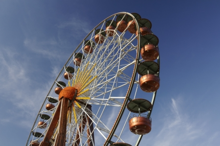 d���azur: Big wheel, Cote d Azur, French Riviera, Southern France, Europe