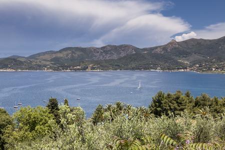 elba: Landscape near Portoferraio Elba Tuscany Italy Europe