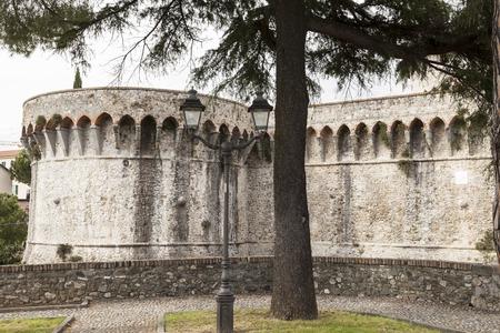 sarzana: Sarzana fortress Fortezza Firmafede La Cittadella Firmafede Liguria Italy