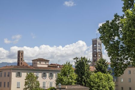 cattedrale: The Cathedral of St Martin in Lucca Cattedrale di San Martino Duomo di Lucca Tuscany Italy