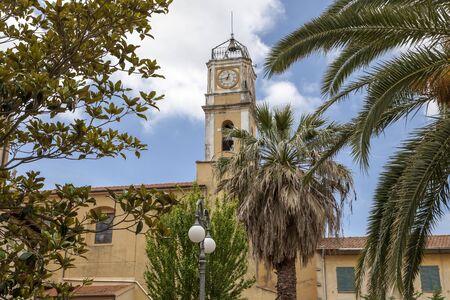 san giacomo: Porto Azzurro, church Chiesa di San Giacomo Maggiore, Elba, Tuscany, Italy, Europe