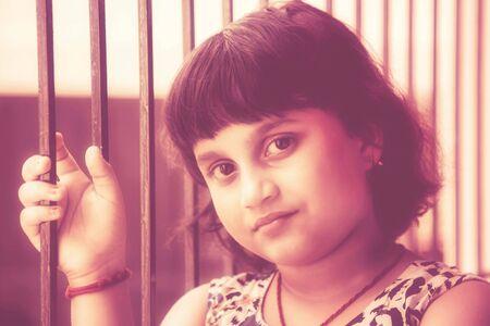 potrait: Potrait of a little girl