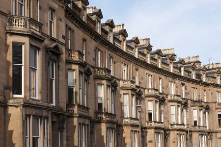 Traditional Gregorian flats in a row, shaped in a bow form. Stock Photo - 13042487