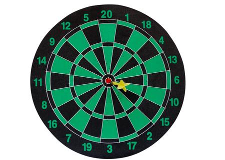 Dart Board on white background