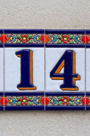 Floral tiles number fourteen