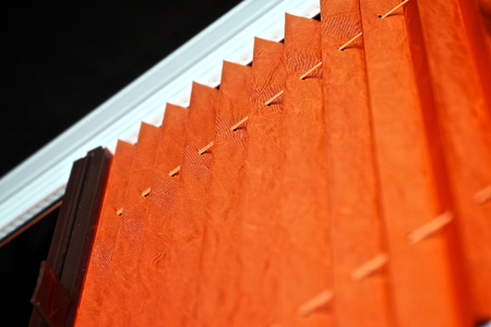 roll curtains: Pleated blind