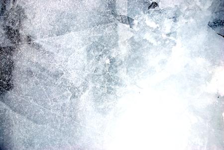 crystal winter ice art