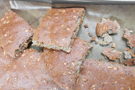 carb: Low carb healthy bread with seeds