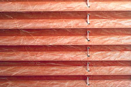 Faltstore rot Standard-Bild - 31682367