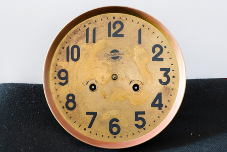 timepieces: texture of the old clock,a lot of old clock Stock Photo