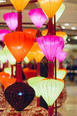 lantern festival: Lantern Festival Stock Photo