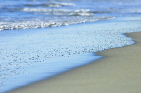 Azure ocean shore  photo