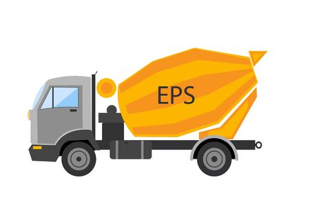 autotruck: Autotruck  Tipping lorry  Tripper truck vector icon isolated Tipping lorry. Autotruck vector isolated.Building truck machine.lift cargo vehicle Illustration